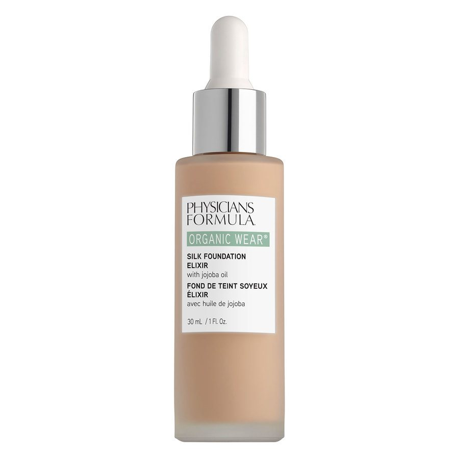 Physicians Formula Organic Wear®Silk Foundation Elixir 02, Fair-to-Light (30 ml)