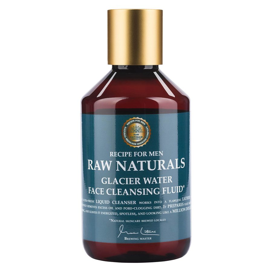Raw Naturals Glacier Water Face Cleansing Fluid (250ml)