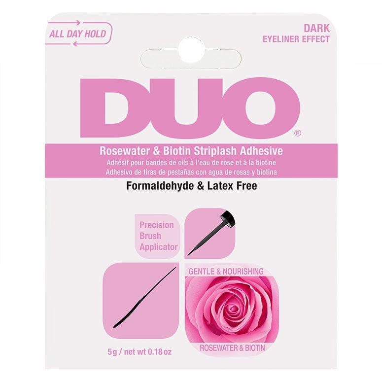 Ardell Duo Biotin Rose Striplash Adhesive, Dark 5g