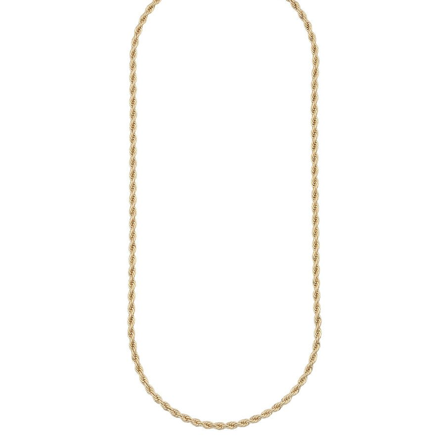 Snö Of Sweden Chase High Necklace, 50 Plain Gold