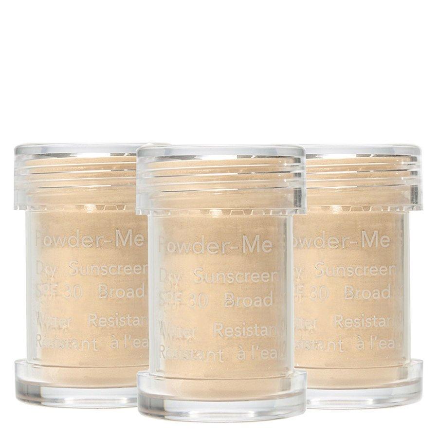 Jane Iredale Powder-Me SPF30 Dry Sunscreen Refill Golden, 3 x 2,5g
