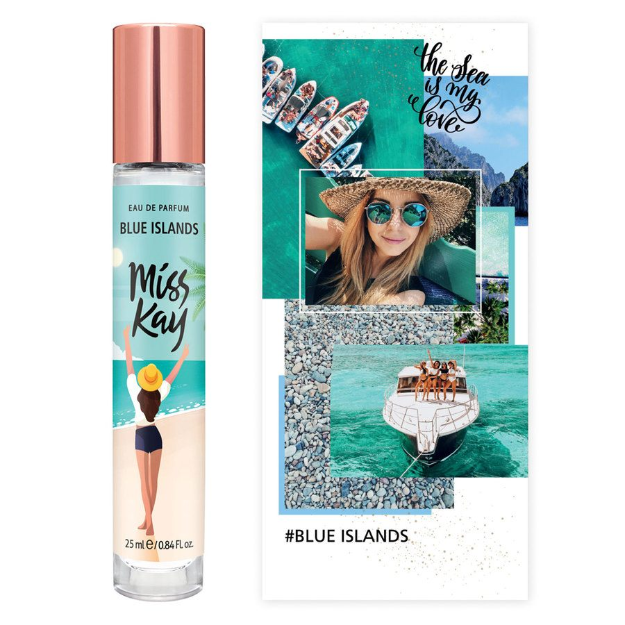 Miss Kay Blue Islands Eau De Parfum (25 ml)
