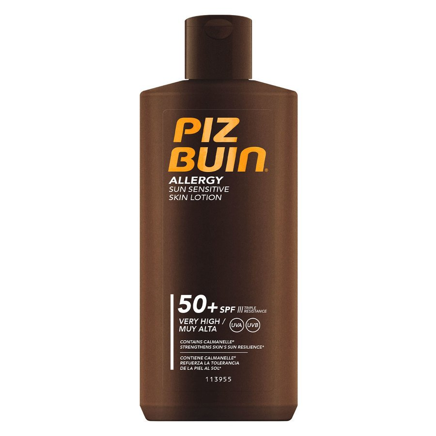Piz Buin Allergy Sun Sensitive Skin Lotion SPF50 (200 ml)