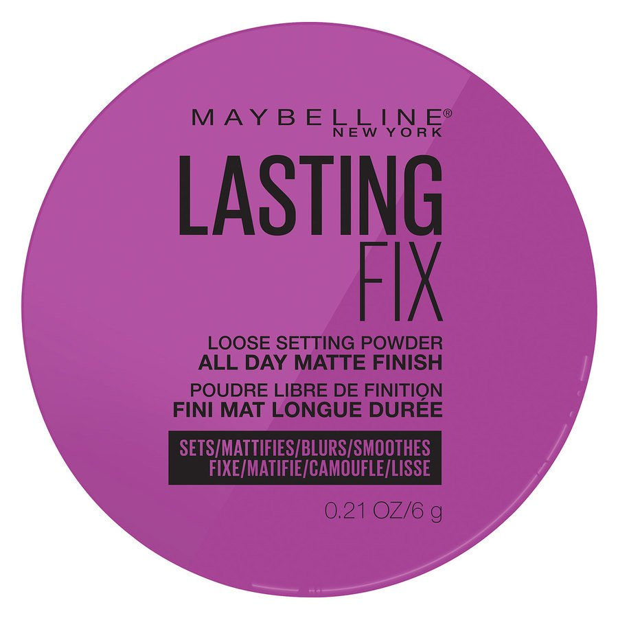 Maybelline Master Fix Setting + Perfecting Loose Powder, 01 Translucent (6 g)