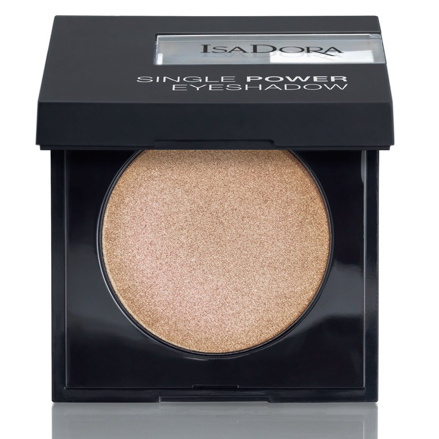 IsaDora Single Power Eyeshadow, 10 Frosted Beige 2,2 g
