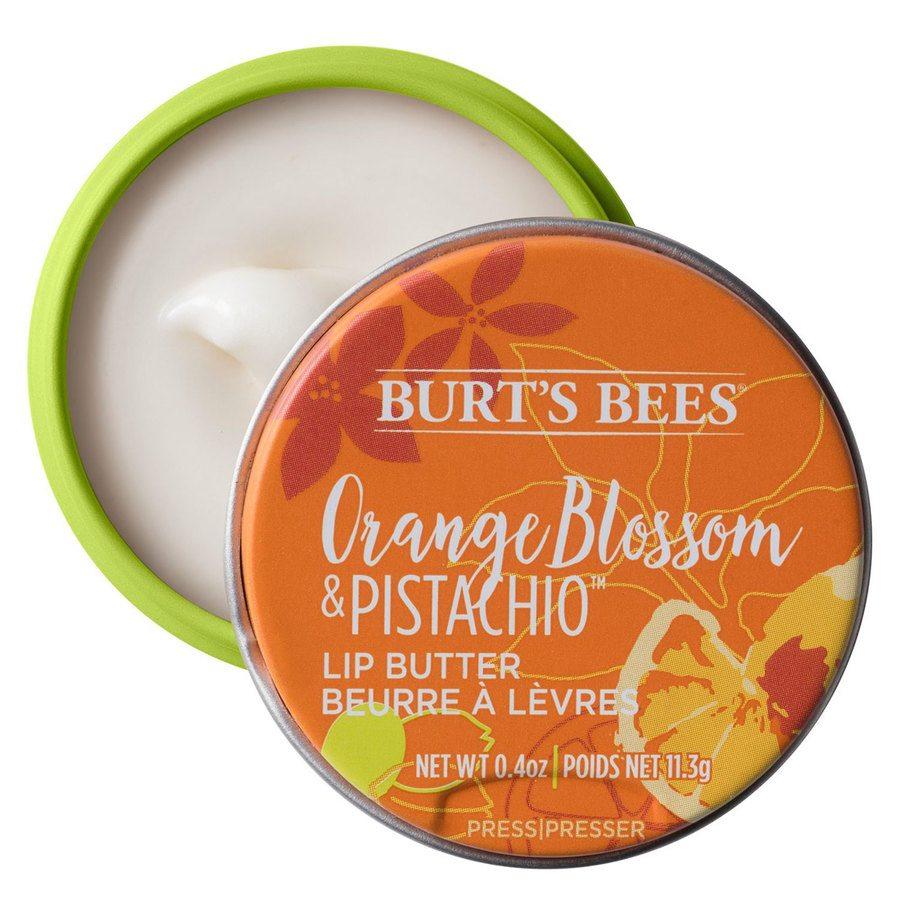 Burt's Bees® 100% Natural Origin Moisturizing Lip Butter, Orange Blossom & Pistachio (11,3g)