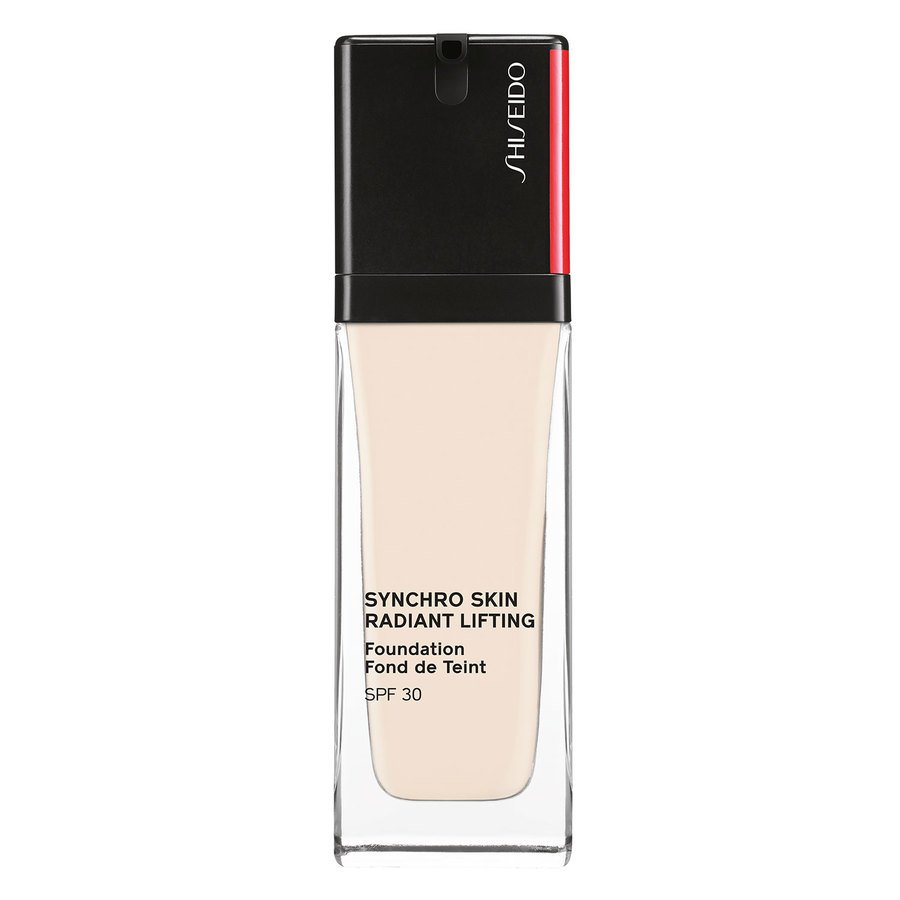 Shiseido Synchro Skin Radiant Lifting Foundation SPF30, 110 Alabaster 30 ml