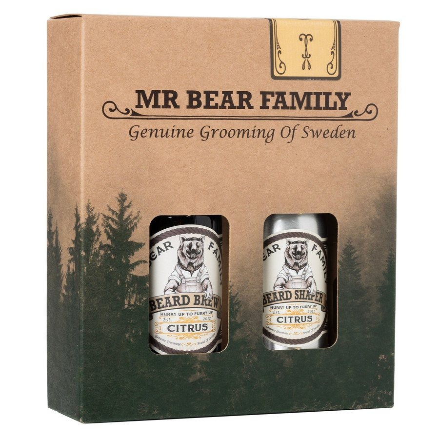 Mr Bear Family Kit Brew & Shaper Citrus 60 + 50 ml