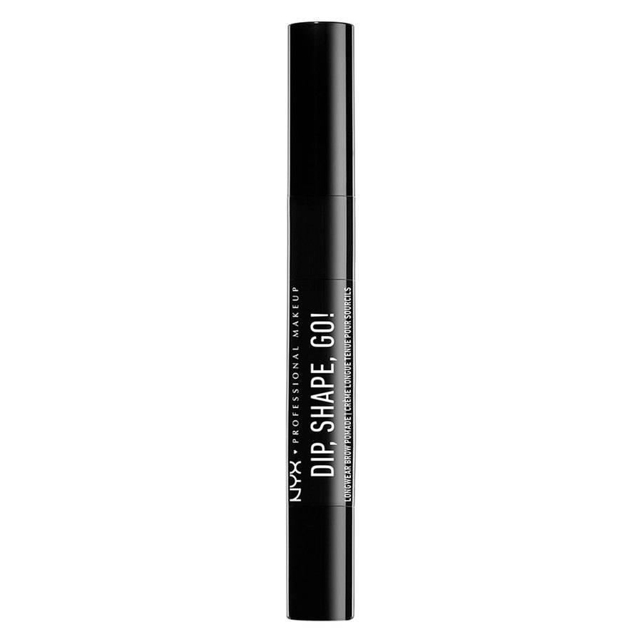NYX Professional Makeup Dip Shape Go Longwear Brow, Chocolate (1,2g)