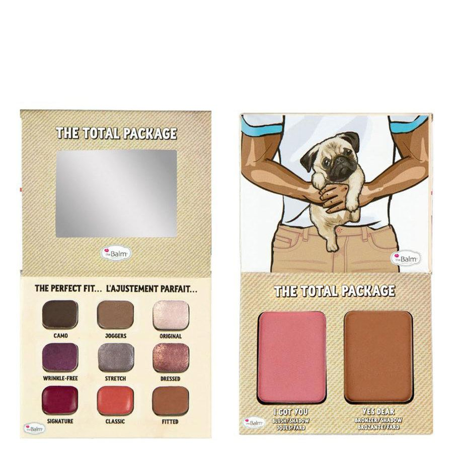TheBalm The Total Package, Khaki I Love My Girlfriend Palette