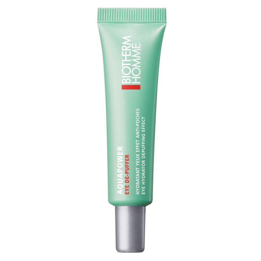 Biotherm Homme Aquapower Eye De-Puffer Cream (15 ml)