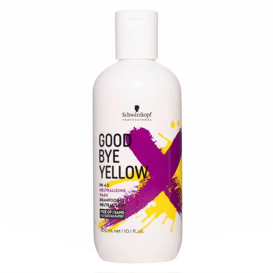 Schwarzkopf Goodbye Yellow Neutralizing Wash Shampoo (300 ml)