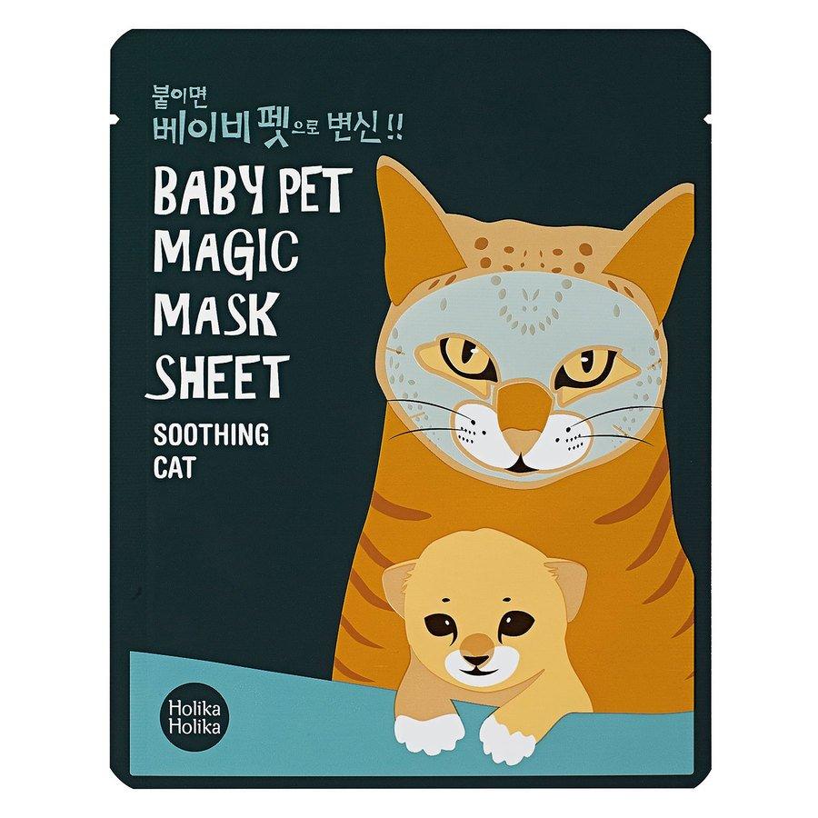 Holika Holika Baby Pet Magic Mask Sheet, Soothing Cat (22ml)