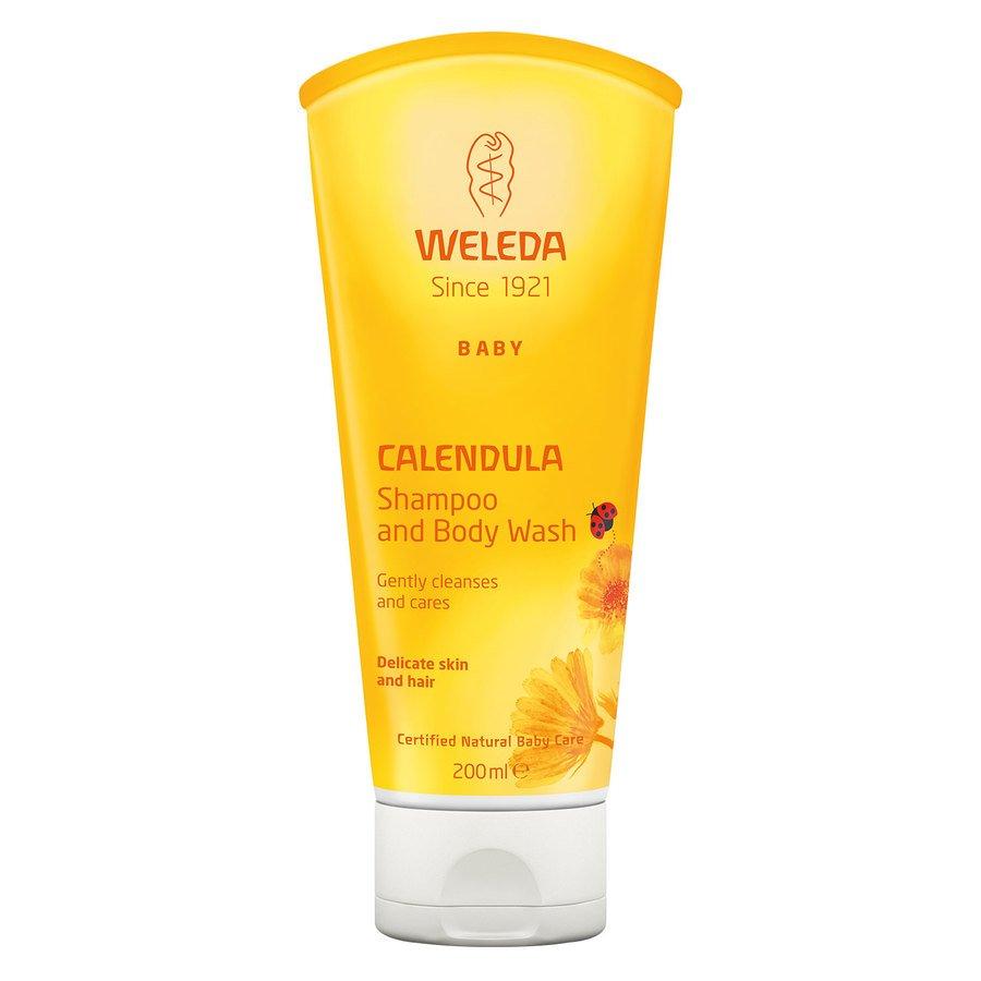 Weleda Baby Calendula Shampoo & Bodywash (200 ml)