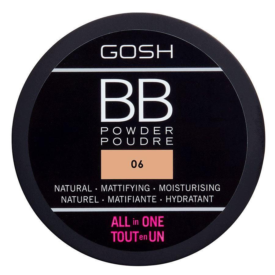GOSH BB Powder, #006 Warm Beige (6,5 g)