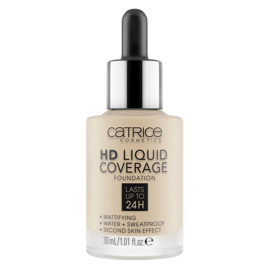 Catrice HD Liquid Coverage Foundation, 010 Light Beige 30 ml