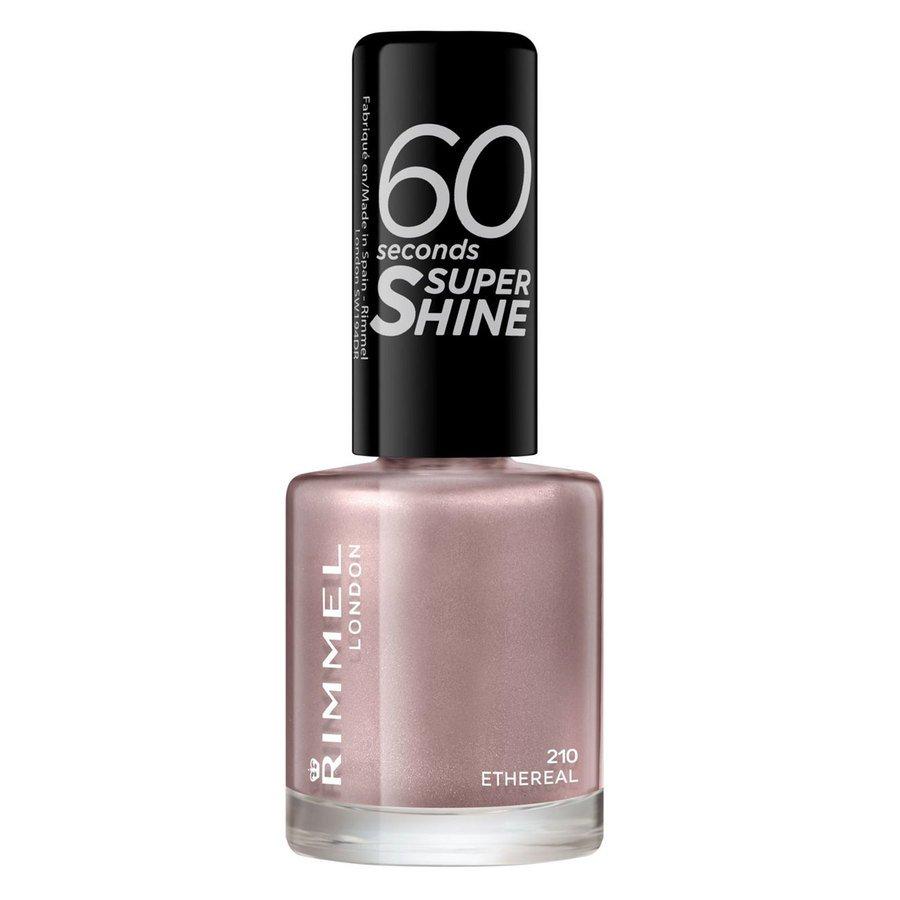 Rimmel London 60 Seconds Super Shine Nail Polish, # 210 Ethereal Nude (8 ml)