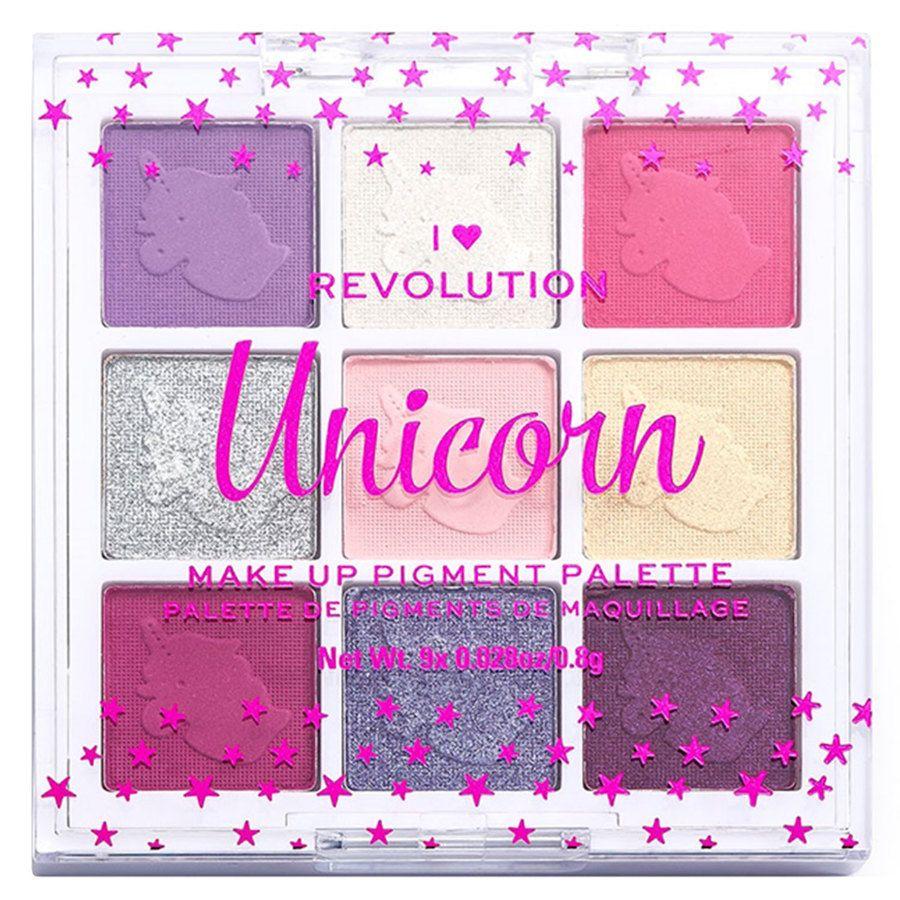 Makeup Revolution I Heart Revolution Fantasy Makeup Pigment Palette Unicorn