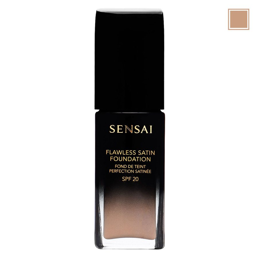 Sensai Flawless Satin Foundation, FS202 Ochre Beige (30 ml)