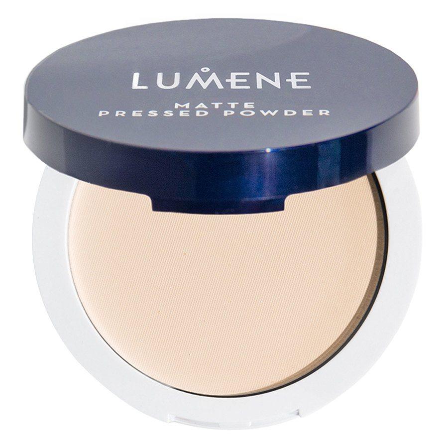 Lumene Stay Matte Pressed Face Powder, Translucent 10g