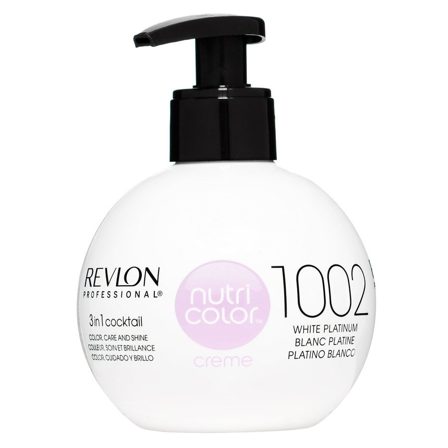 Revlon Professional Nutri Color Creme (270ml), #1002 White Platinum