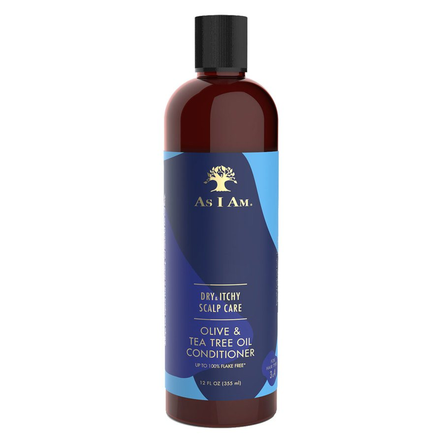 As I Am Dry & Itchy Scalp Care Olive & Tea Tree Oil Conditioner 355ml