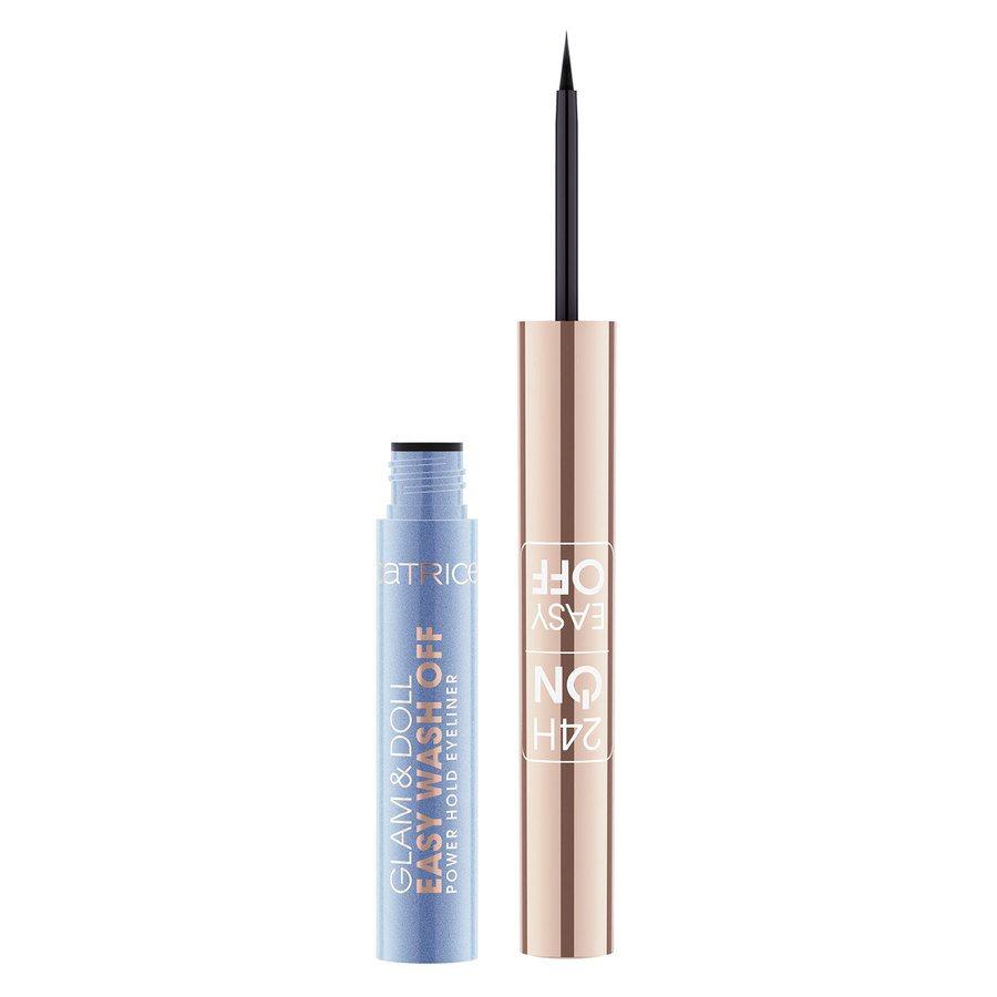 Catrice Glam & Doll Easy Wash Off Power Hold Eyeliner, 010 Ultra Black 1,7 ml