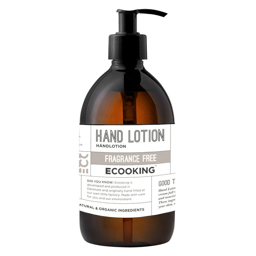 Ecooking Hand Lotion Fragrance Free 300ml