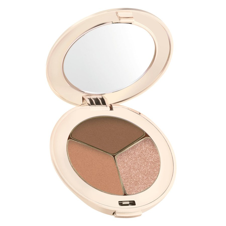 Jane Iredale PurePressed Triple Eye Shadow, Triple Cognac (2,8g)
