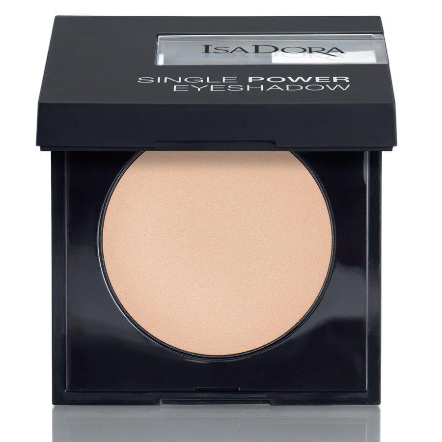 IsaDora Single Power Eyeshadow, 01 Bare Beige 2,2 g