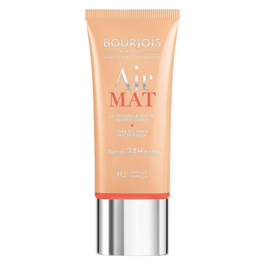 Bourjois Air Mat Foundation, 02 Vanilla (30ml)