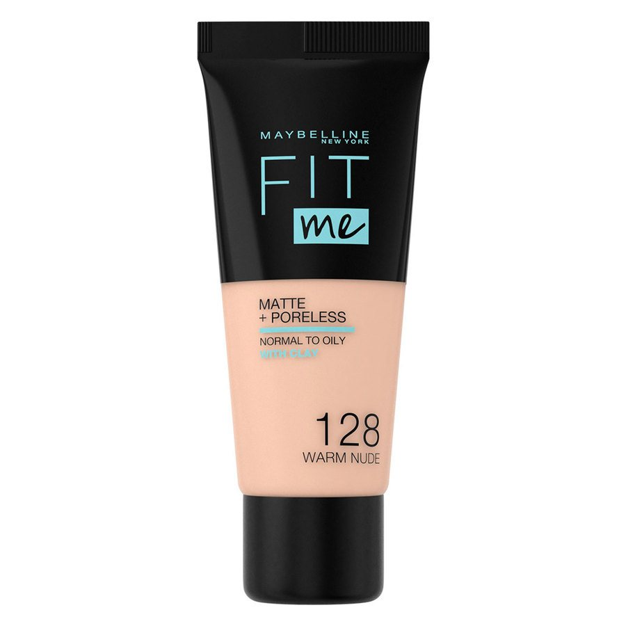 Maybelline Fit Me Makeup Matte + Poreless Foundation, 128 (30 ml Tube)