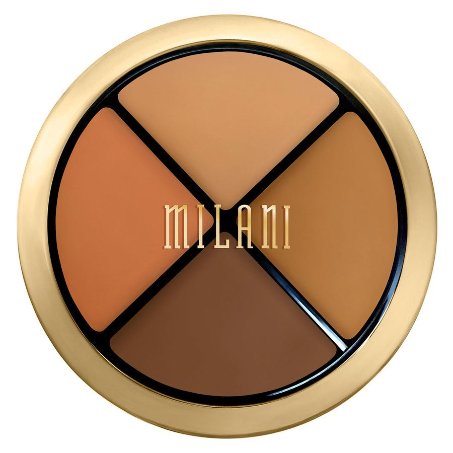 Milani Conceal + Perfect All-In-One Concealer Kit, Dark To Deep (7,2g)