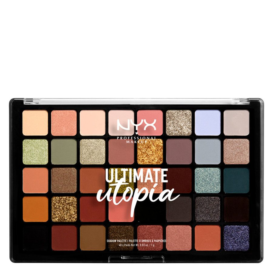 NYX Professional Makeup Ultimate Utopia Shadow Palette (40 x 1 g)