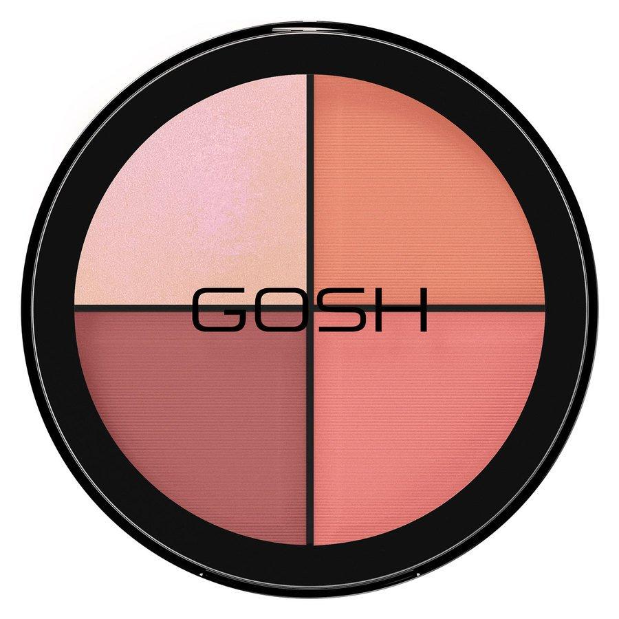 GOSH Strobe'n Glow Kit, #002 Blush (20 g)