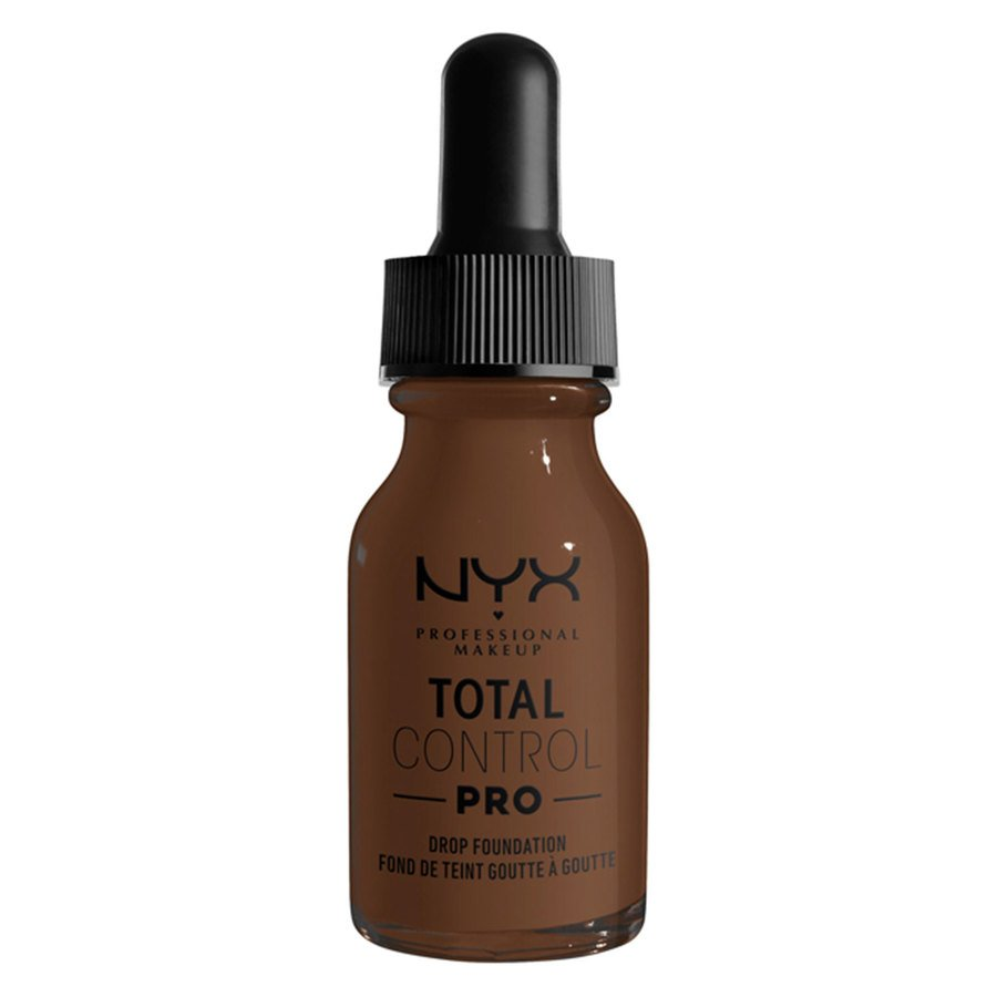 NYX Professional Makeup Total Control Pro Drop Foundation, Deep 13 ml
