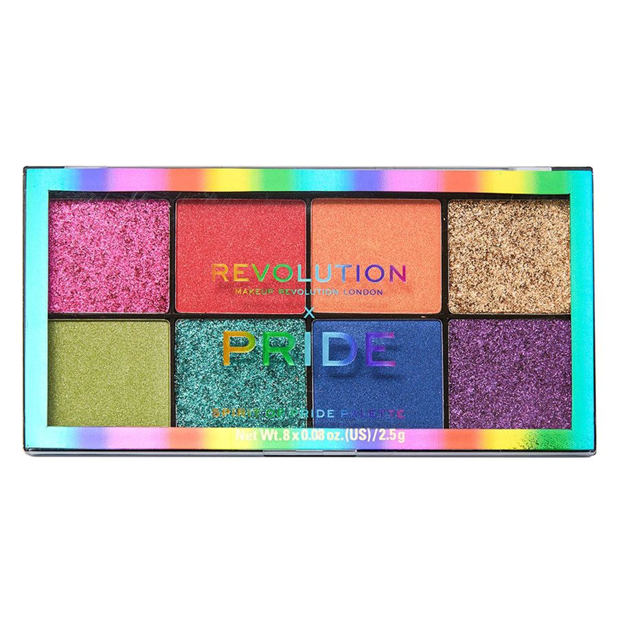 Makeup Revolution X Pride, Spirit Of Pride Shadow Palette