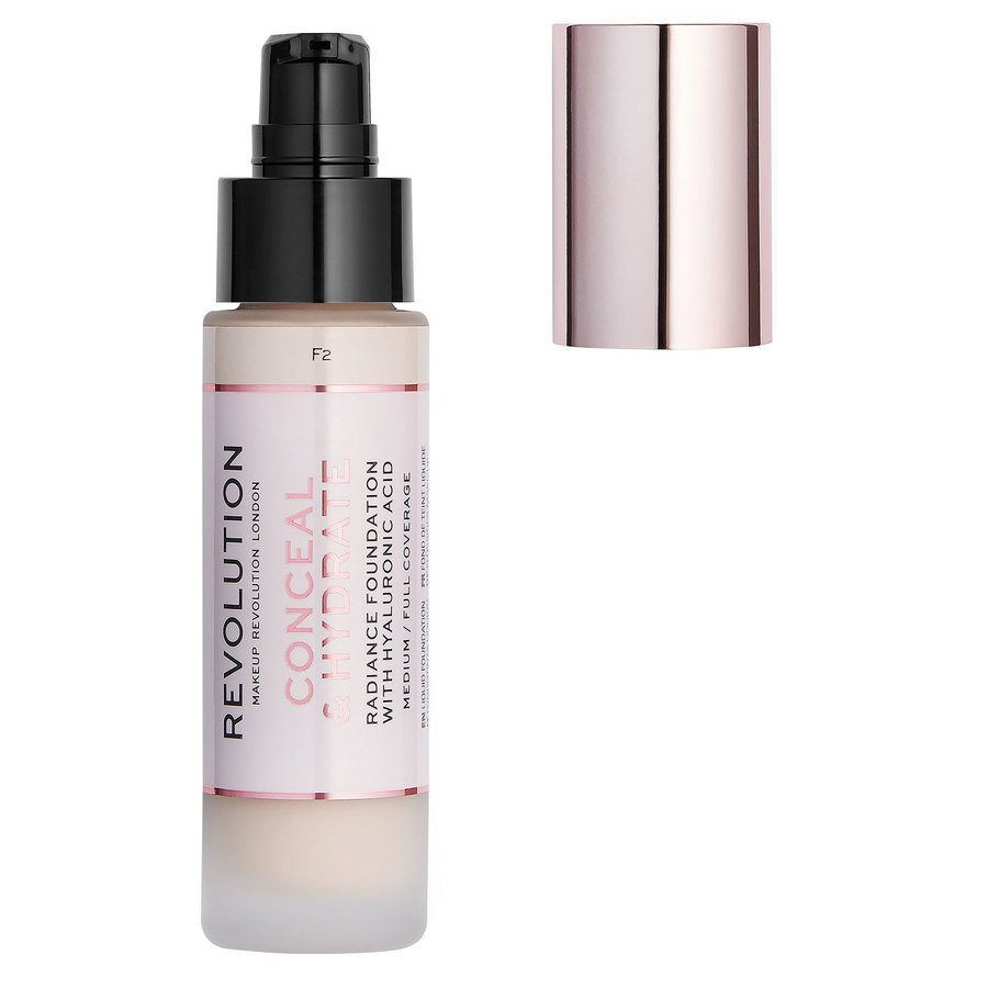 Makeup Revolution Conceal & Hydrate Foundation, F2 (23 ml)