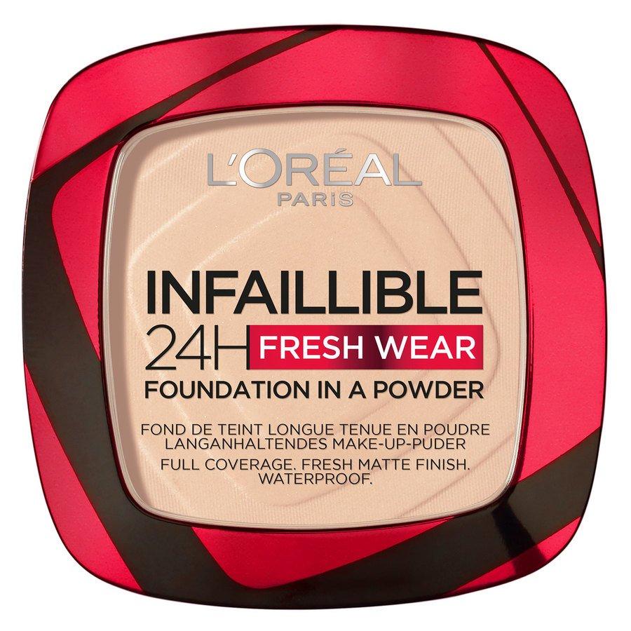 L'Oréal Paris Infaillible 24H Fresh Wear Foundation In A Powder, Ivory 9g