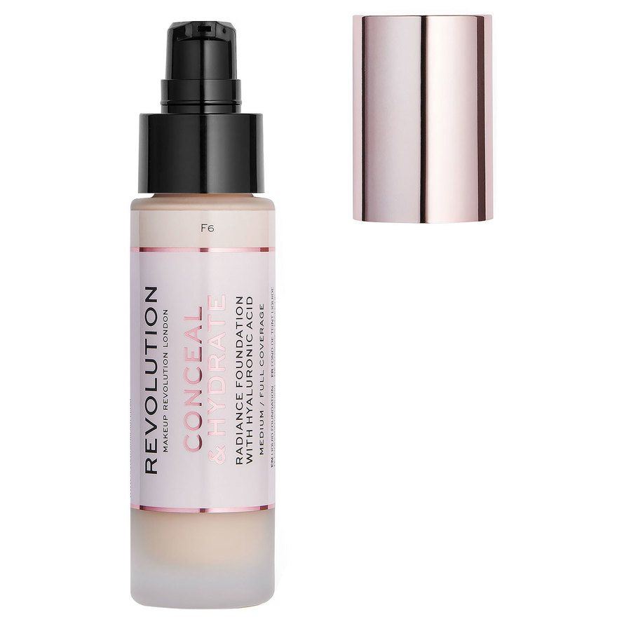Makeup Revolution Conceal & Hydrate Foundation, F6 (23 ml)