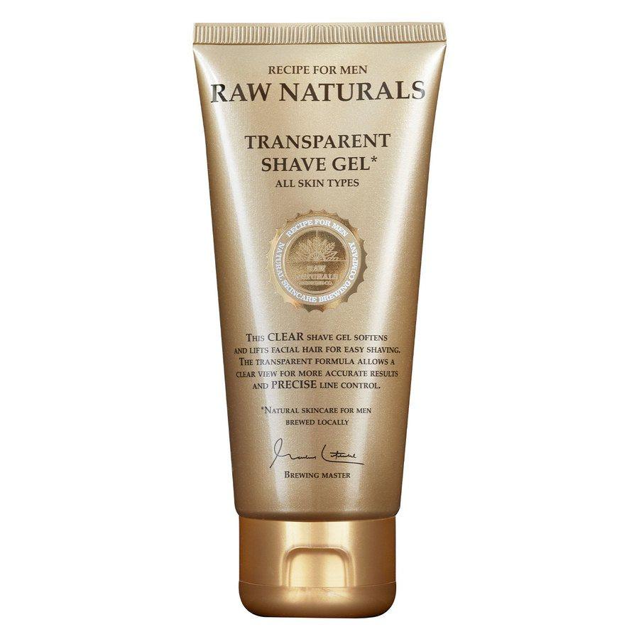 Raw Naturals Transparent Shaving Gel (100 ml)