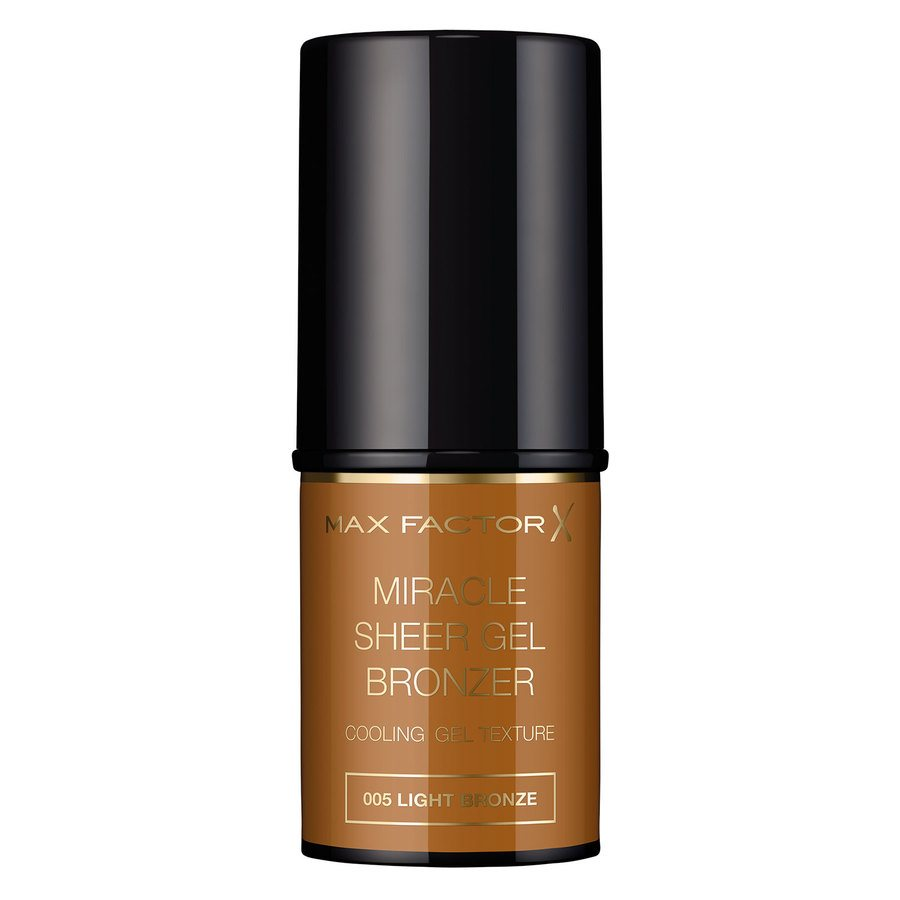 Max Factor Sheer Gel Bronzer, 05 Light Bronze (8 ml)