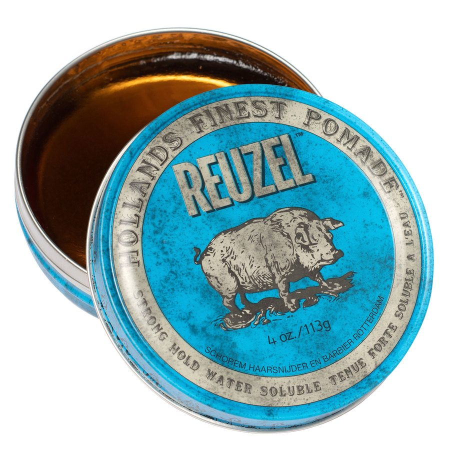 Reuzel Blue Strong Hold High Sheen Pomade (113 g)