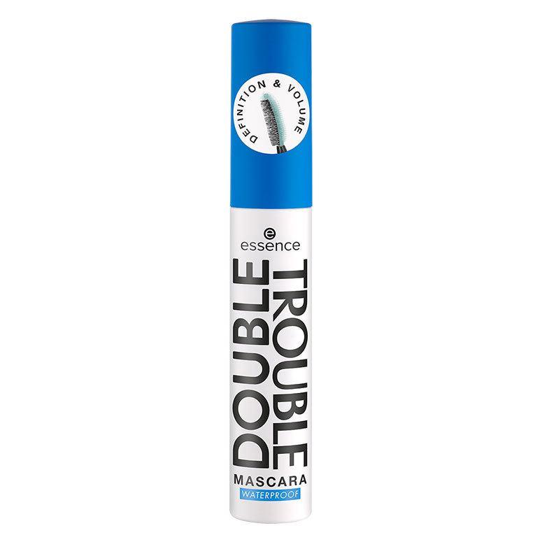 Essence Double Trouble Mascara Waterproof, Black 12 ml