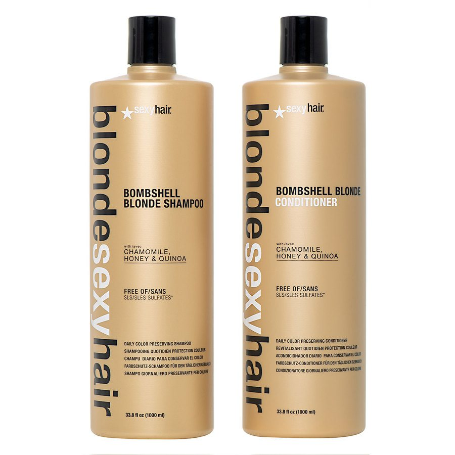 Blonde Sexy Hair Shampoo and Conditioner (2 x 1000 ml) (Duo)