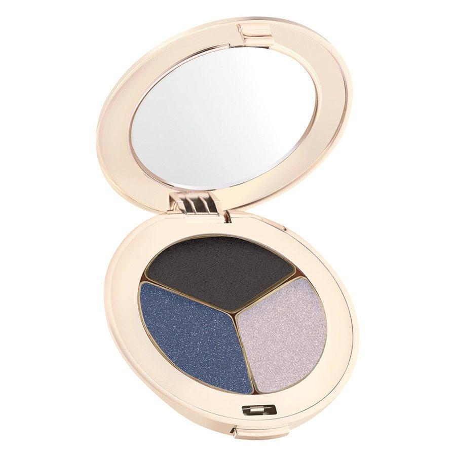 Jane Iredale PurePressed Triple Eye Shadow, Blue Hour 2,8 g