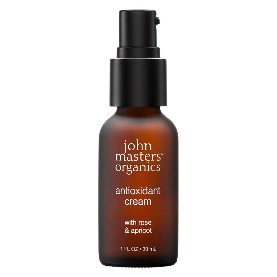 John Masters Organics Antioxidant Cream With Rose & Apricot (30 ml)