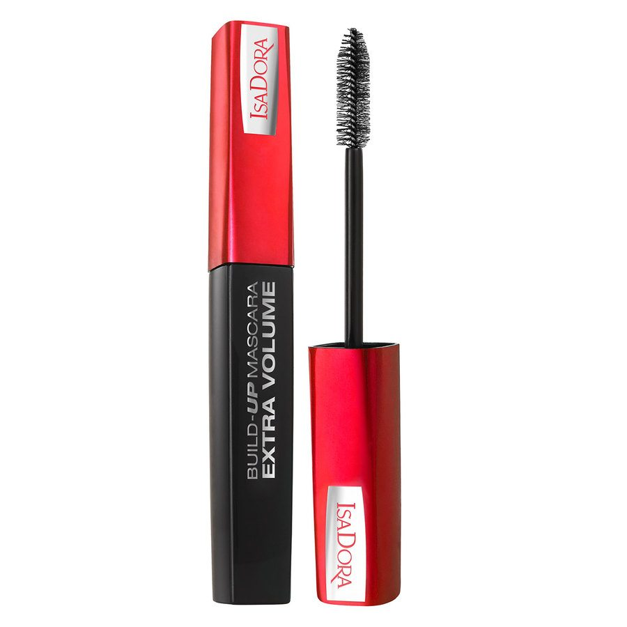 IsaDora Build-Up Mascara Extra Volume Super Black 12ml