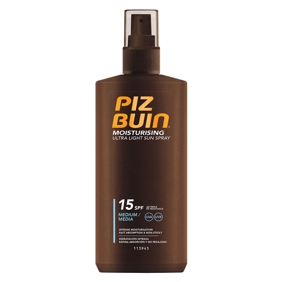 Piz Buin Moisturizing Ultra Light Lotion Spray SPF15 (200ml)