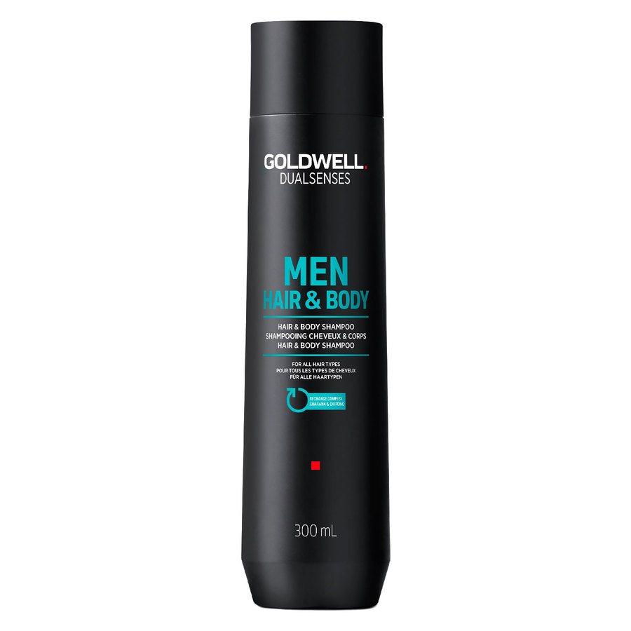 Goldwell Dual Senses For Men Hair & Body Shampoo (300 ml)